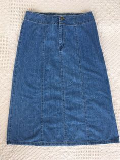 Women's Clothing French Kookai Stretch Denim Cotton Skirt Sz 38 Ruffled Waist A-line Zips Up Back Skirts