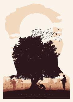 True Detective - JavierVeraLainez #illustration