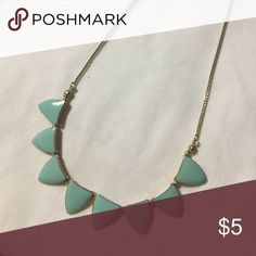 Turquoise tribal necklace Statement necklace Jewelry Necklaces