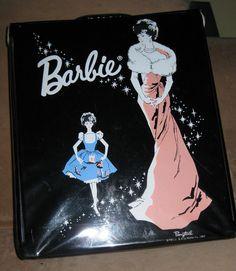 1962 Black Ponytail Barbie Case