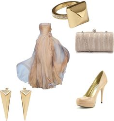 """""""golden"""" by fbibi on Polyvore"""