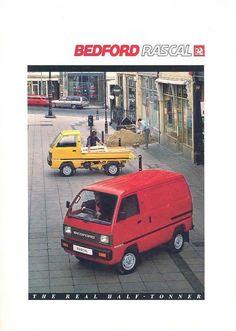 Bedford Rascal Van Commercial Van, Motorbikes, Camper, Old Things, British, Vans, Trucks, Japanese, Live