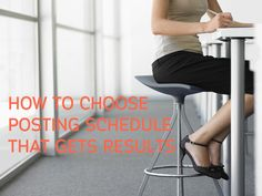 Do you need help choosing a blog posting schedule for your blog? Look no further than these few questions that can help you make better sense of how to get a blog schedule that gets results and grows your #blog! #bloggrowth