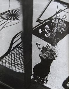 Composition Ombres, 1936 by Florence Henri - Henri studied music with Busoni, painting with Léger and Kandinsky, and eventually photography with Moholy-Nagy – she used mirrors and other tricks of perspective to give a surreal edge to her images