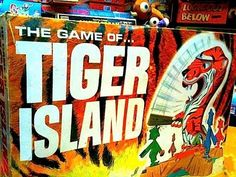 1966 Tiger Island Game by Ideal. Loved it! I still have this!