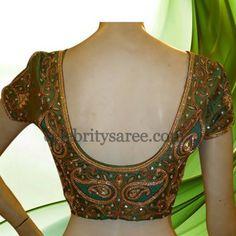 Wedding Silk Blouse Designs | Saree Blouse Patterns