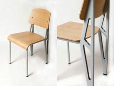 Jean-Marie Massaud's revision/interpretation of Jean Prouve's Standard chair