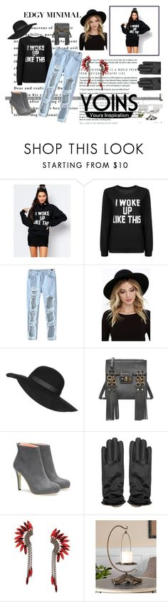 """""""yoins"""" by nylover-998 ❤ liked on Polyvore featuring Private Party, Chicnova Fashion, RHYTHM, Topshop, Elizabeth Cole, Uttermost and yoins"""