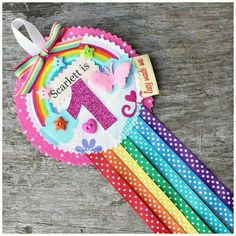 Image of Personalised Rosette Badges