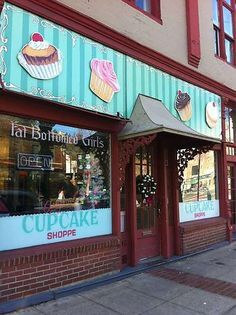 Fat Bottomed Girls Cupcake Shoppe  Hotsprings, AR