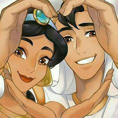 disney, aladdin, and jasmine image Disney Pixar, Disney E Dreamworks, Disney Fan Art, Disney Animation, Disney Cartoons, Disney Movies, Disney Characters, Animation Movies, Walt Disney