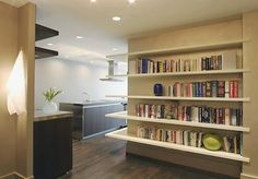 Floating_bookshelves_wrap_around_San_Francisco_Marnie_Wright_Design