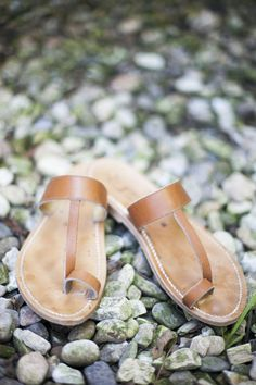 Perfect summer sandals by K Jaques