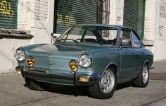 Bid for the chance to own a 1971 Fiat 850 Sport Coupe at auction with Bring a Trailer, the home of the best vintage and classic cars online. Fiat 850, Fiat Abarth, Bmw Classic Cars, Classic Cars Online, Volkswagen 181, Fiat Cars, Bmw Cars, Small Cars, Steyr