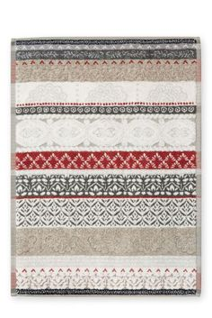 Buy Geometric Striped Towelling Bath Mat from the Next UK online shop