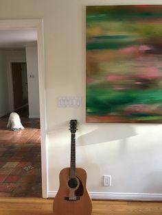 Up this week in Zippertravel's PlaceMaker Series: Painter Eamon Harrington in Malibu California Malibu Beaches, Malibu California, Guitar, Digital, Painting, Painting Art, Paintings, Painted Canvas, Guitars