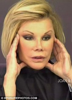 'My body is a temple, and my temple needs redecorating': Joan Rivers