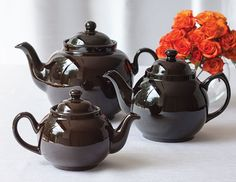 Holding a Brown Betty teapot is like holding a bit of British history in your hand.