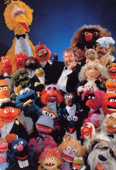 """The Muppets. First appeared (well, Kermit anyway and as a lizard) on""""Sam and Friends"""" in 1955. Since then, they have starred on shows such as """"Sesame Street"""" and """"The Muppet Show"""" and in movies such as """"The Muppet Movie"""" and """"The Muppets"""" (2011). Have been making people (including me) smile for generations."""