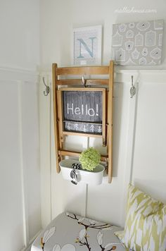 Nalle's House: DIY PROJECTS. small spaces friendly.
