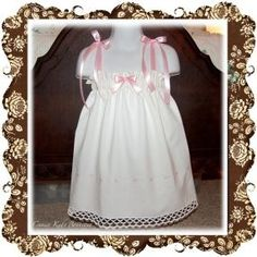 Annie - Pink and Whited Vintage Pillowcase Halter Dress or Top - CraftStylish