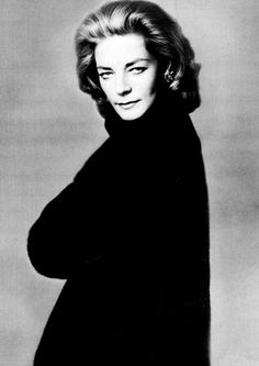 Lauren Bacall  via Mark D. Sikes: Chic People, Glamorous Places, Stylish Things  #laurenbacall #oldhollywood