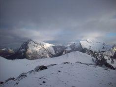 Montes de Ponga nevados (vista desde el Cuetón de les Travieses)