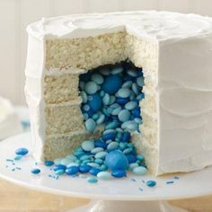 gender reveal party ideas | Gender-Reveal-Party-6-Gender-Reveal-Cake-420x420.jpg