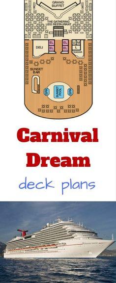 #carnival carnival dream #deckplans deck plans cruise ship #cruise