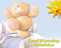 Good Morning Sunshine coffee animated morning bear gif good morning good morning greeting good morning quote