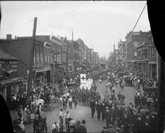 Main Street Parade Charlottesville from Negatives from the Charlottesville photographic studio plus an index volume  Holsinger's Studio (Charlottesville, Va.)  1890-1938  Albert and Shirley Small Special Collections Library, University of Virginia.