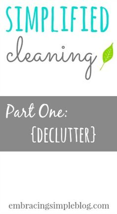 Tips and strategies for how to successfully declutter your home and possessions to create a relaxing space that you'll love spending time in!