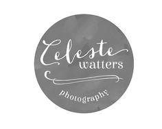 Watercolor Logo badge - Customized for ANY business - Circular Premade Photography Logos - Watercolor Emblem