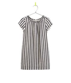 vertical stripe dress, zara.