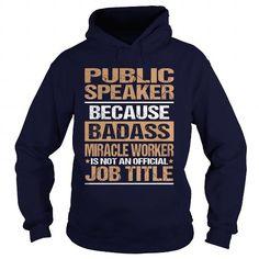 PUBLIC SPEAKER T Shirts, Hoodies. Get it now ==► https://www.sunfrog.com/LifeStyle/PUBLIC-SPEAKER-97182594-Navy-Blue-Hoodie.html?41382