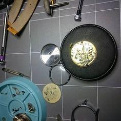 Dalbana rebuild #latheandgrain can't change the pivot wheel pin. #watchporn