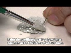 Make silver leaf pendants with PMC Paste - pendente a forma di foglia in pasta d'argento a casa