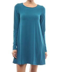 Zoozie LA Womens Tunic Top Shirt Dress >>> You can get additional details at the affiliate link Amazon.com.