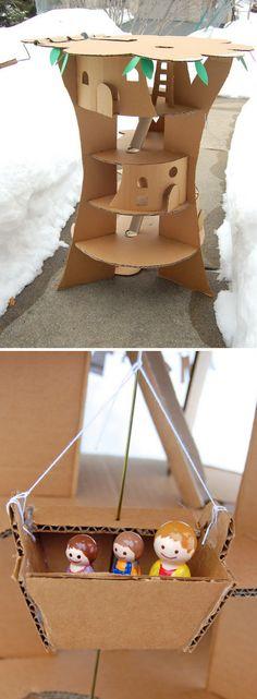 Cardboard Faraway Tree