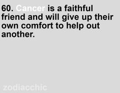 Cancers :)