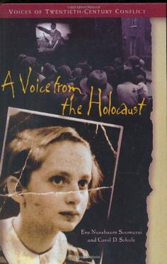 "Eve  recounts her childhood as a Jewish girl growing up in Nazi Berlin, as a teenaged refugee in the United Kingdom, and later as a young adult searching for answers in postwar Germany. This book is ideal for students who have some prior knowledge and are at the grade level in terms of reading comprehension. Lexile 1010. At Grade Level.""A Voice From the Holocaust"" by Eve Soumerai"