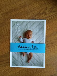 Danksagung zur Geburt! Birth announcement by MK Designbüro! www.mk-designbuero.de