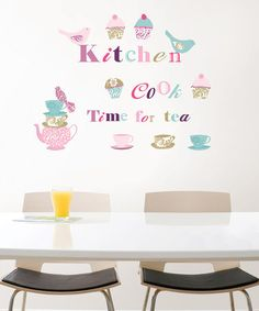 Take a look at this Kitchen Decal Set by WallPops! on #zulily today!