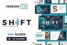 Shift Modern Powerpoint Template - Presentations - 1