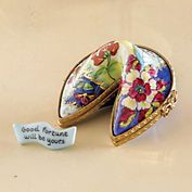Limoges Good Fortune Cookie