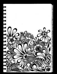 Wish I could just doodle like this in my journal without fear of messing it up -____-
