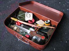 Bazooka Crafts: Harry Potter Swap on Craftster Part I TerrorTours Monster Survival Kit