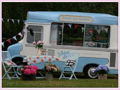 Ice Cream Wedding: Ice cream truck. This is another option rather than the candy bar