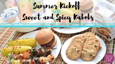 These sweet and spicy kabobs and Giant Eagle will inspire you to get to grilling all summer long. With chicken and shrimp, they are sure to satisfy. Pepperidge Farm Cookies, Main Dishes, Side Dishes, Giant Eagle, Chicken And Shrimp, Angus Beef, Kabobs, Sweet And Spicy, Grilling Recipes