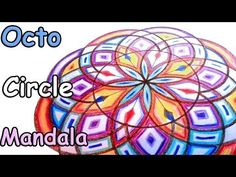 How to draw OctoCircles Mandala pattern Tutorial - Beginners Sacred Geometry video - YouTube
